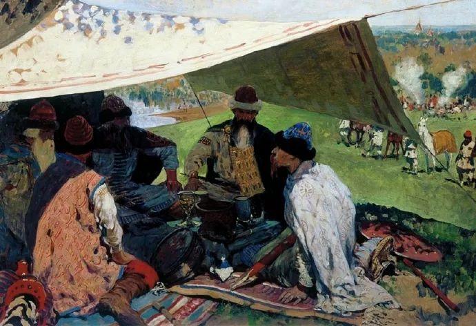 俄罗斯-伊万诺夫,巡回展览画派的第二代画家插图65