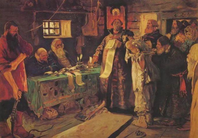 俄罗斯-伊万诺夫,巡回展览画派的第二代画家插图69