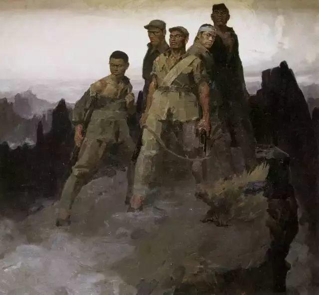 艺术家笔下的中国军人,献给八一!致敬最可爱的人插图19