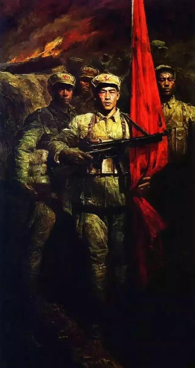 艺术家笔下的中国军人,献给八一!致敬最可爱的人插图29