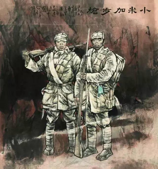 艺术家笔下的中国军人,献给八一!致敬最可爱的人插图33