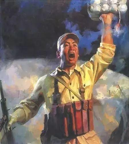 艺术家笔下的中国军人,献给八一!致敬最可爱的人插图43