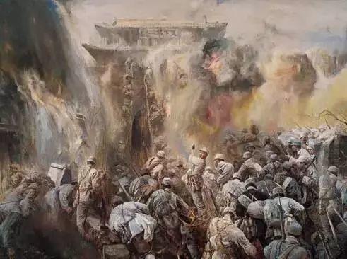 艺术家笔下的中国军人,献给八一!致敬最可爱的人插图51