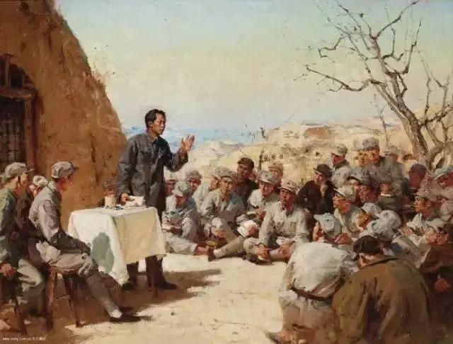 艺术家笔下的中国军人,献给八一!致敬最可爱的人插图69