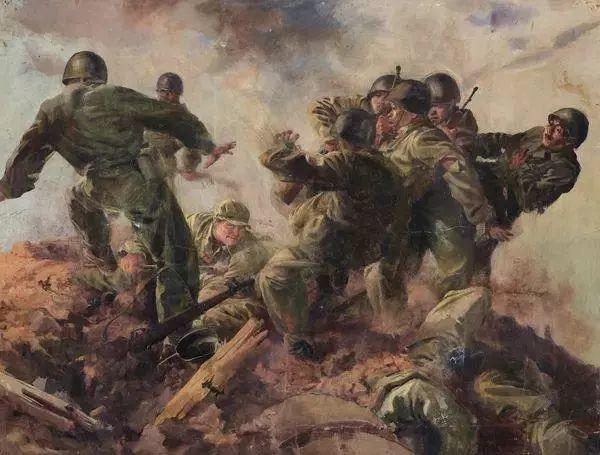 艺术家笔下的中国军人,献给八一!致敬最可爱的人插图73