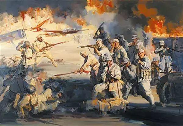 艺术家笔下的中国军人,献给八一!致敬最可爱的人插图101