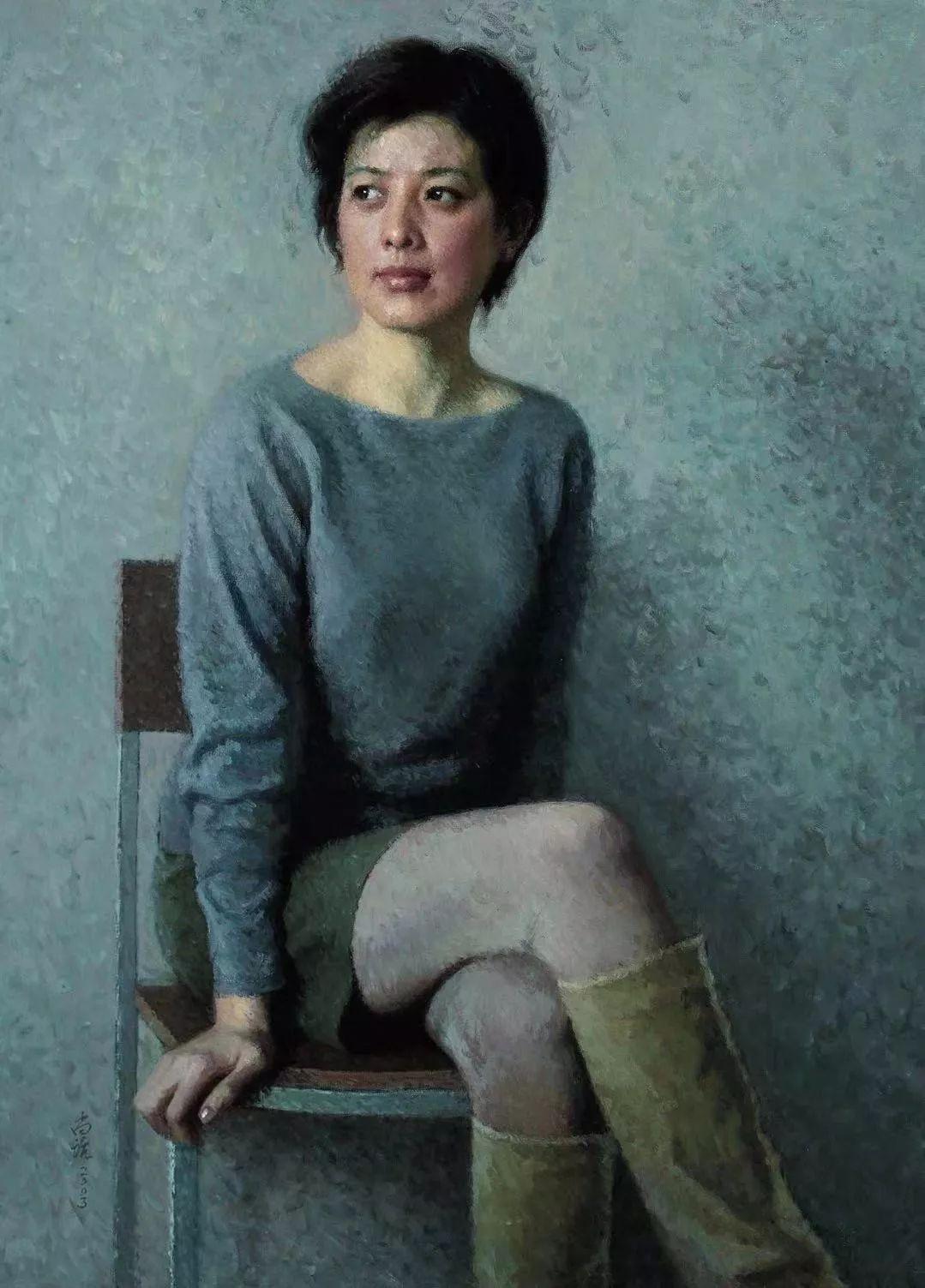 纪念中俄建交70周年油画作品展(一)插图41