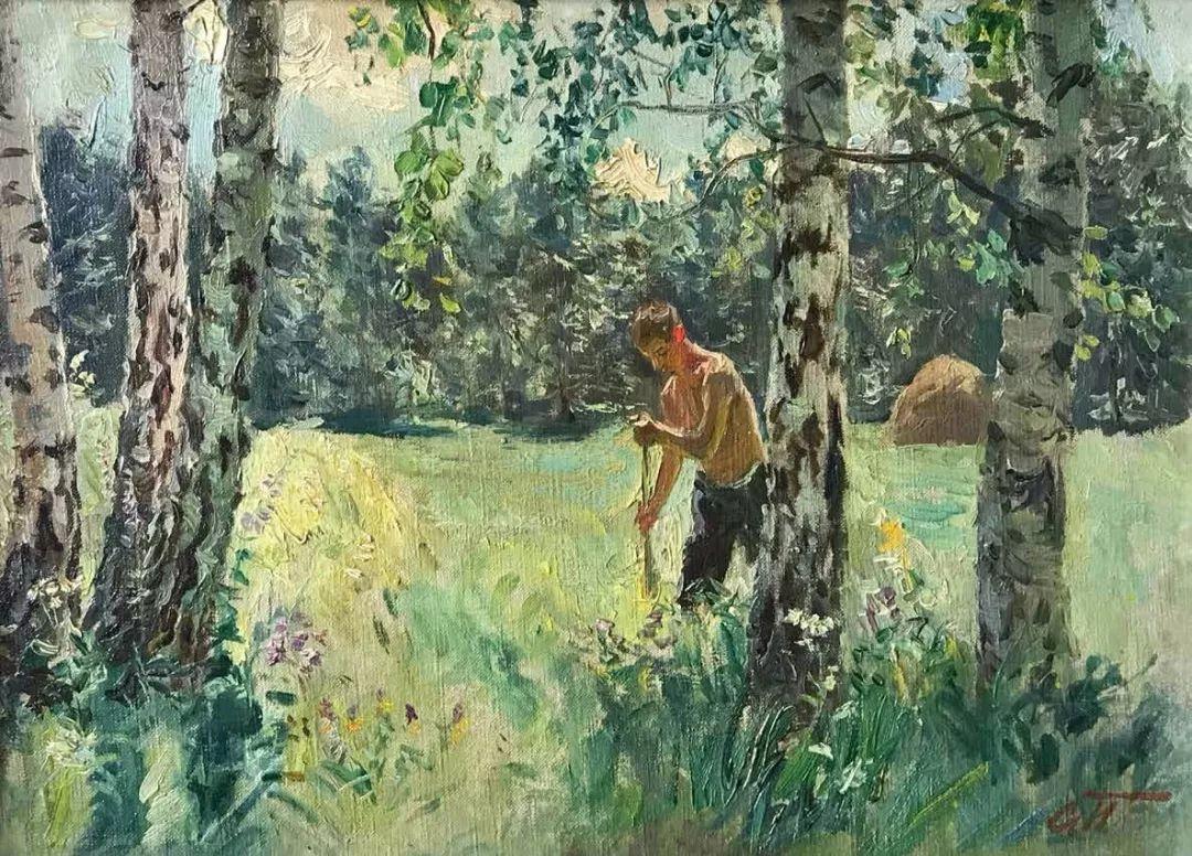 纪念中俄建交70周年油画作品展(一)插图79