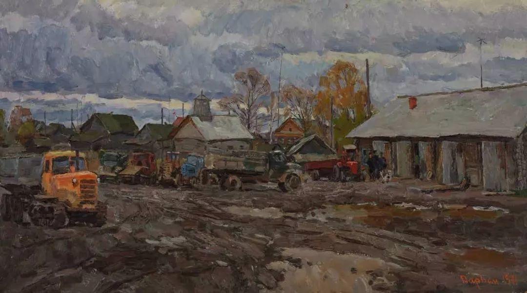 纪念中俄建交70周年油画作品展(一)插图107