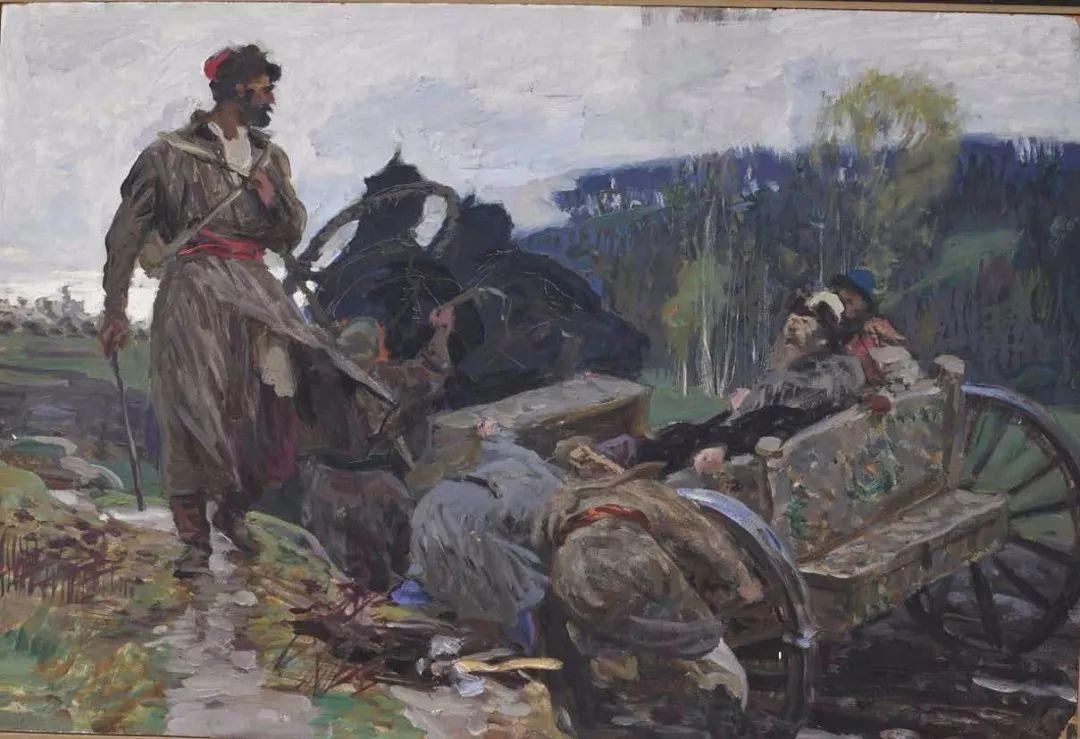 纪念中俄建交70周年油画作品展(一)插图117