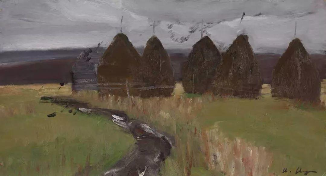 纪念中俄建交70周年油画作品展(一)插图121