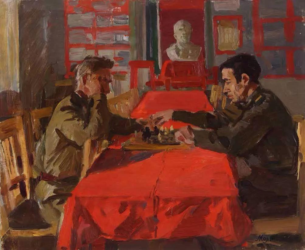 纪念中俄建交70周年油画作品展(一)插图125