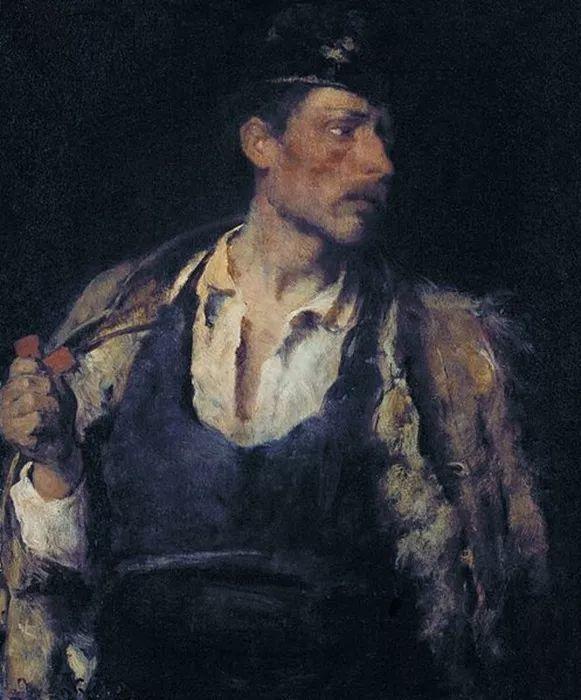 匈牙利-蒙卡奇,19世纪匈牙利民族绘画的领袖插图