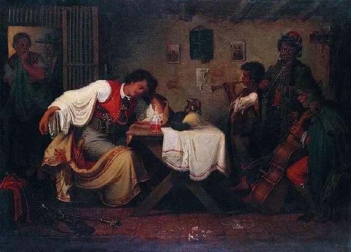 匈牙利-蒙卡奇,19世纪匈牙利民族绘画的领袖插图16
