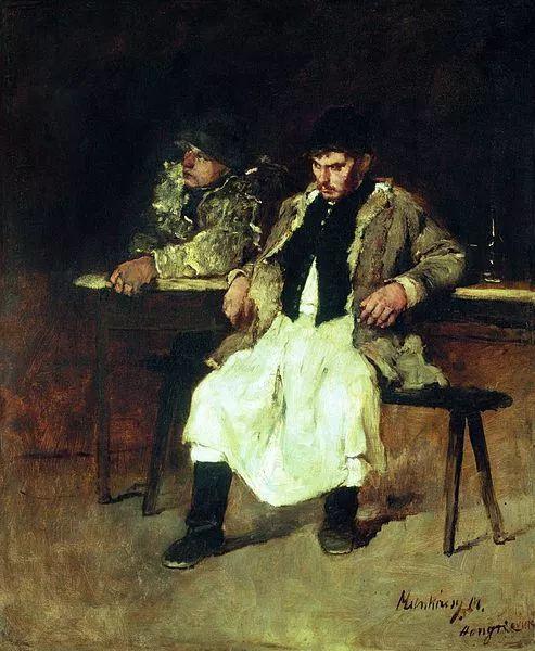 匈牙利-蒙卡奇,19世纪匈牙利民族绘画的领袖插图33