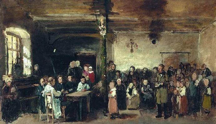 匈牙利-蒙卡奇,19世纪匈牙利民族绘画的领袖插图37