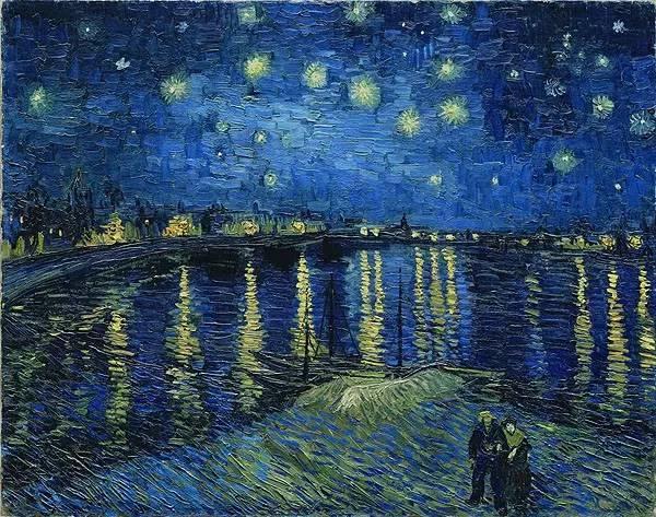 经典再现!梵高:让我再看你一眼,星空和黑夜(梵高作品集)插图117