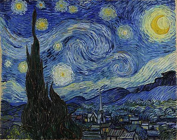 经典再现!梵高:让我再看你一眼,星空和黑夜(梵高作品集)插图173