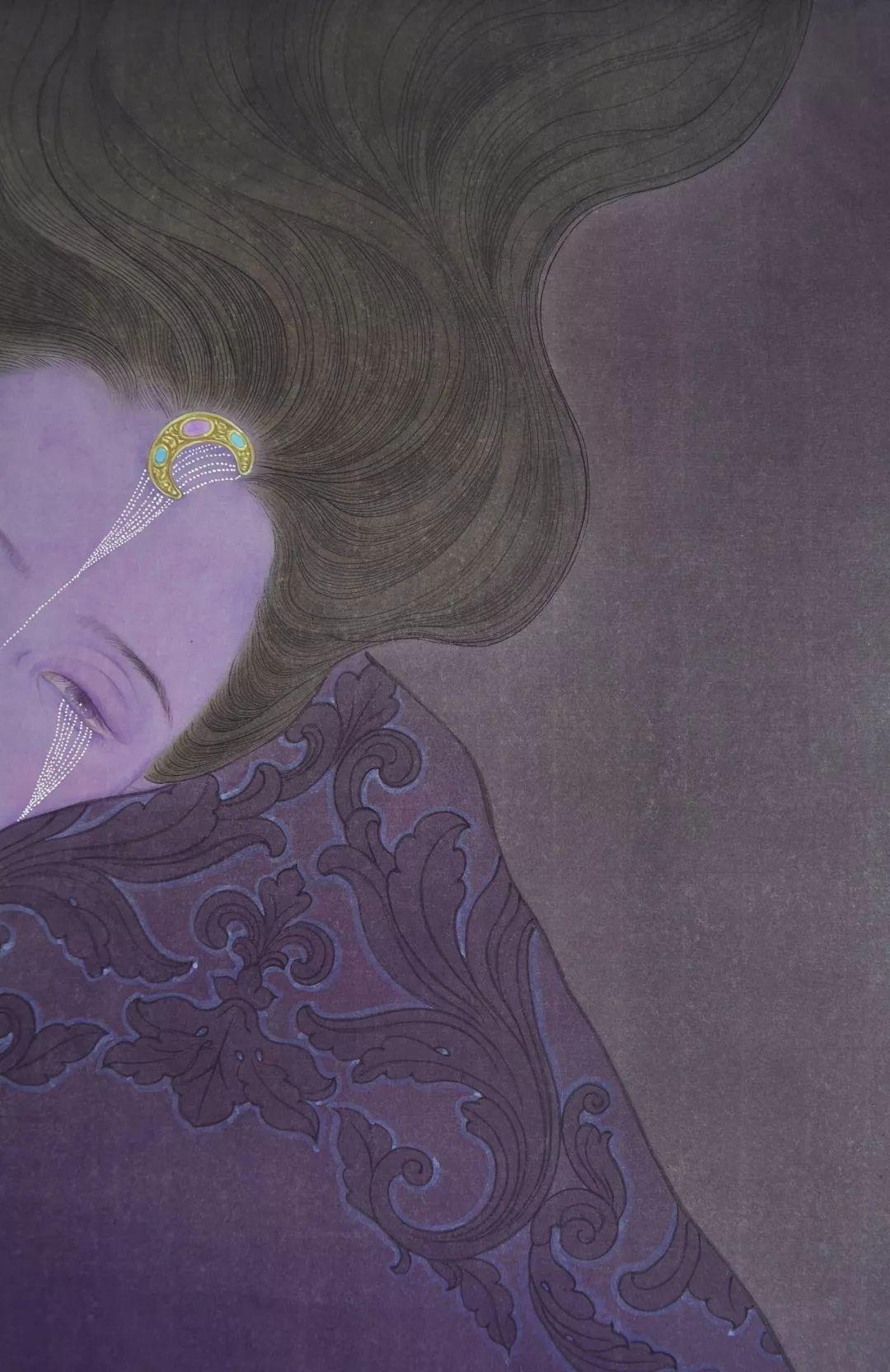 一位全职妈妈的画,惊艳了画坛!插图22