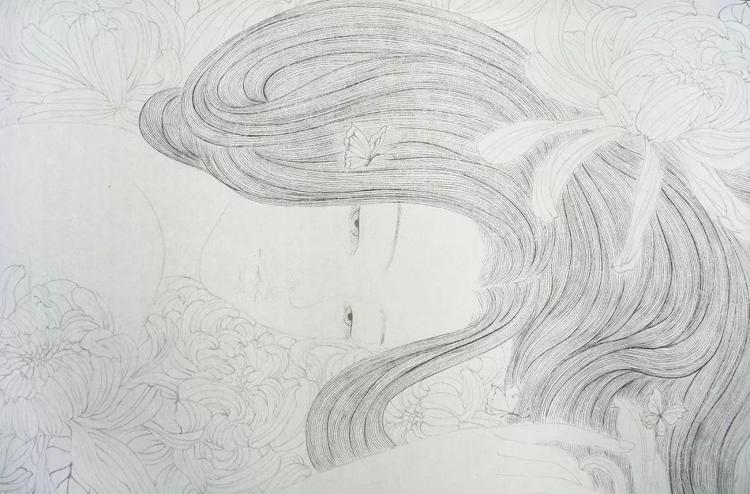 一位全职妈妈的画,惊艳了画坛!插图25