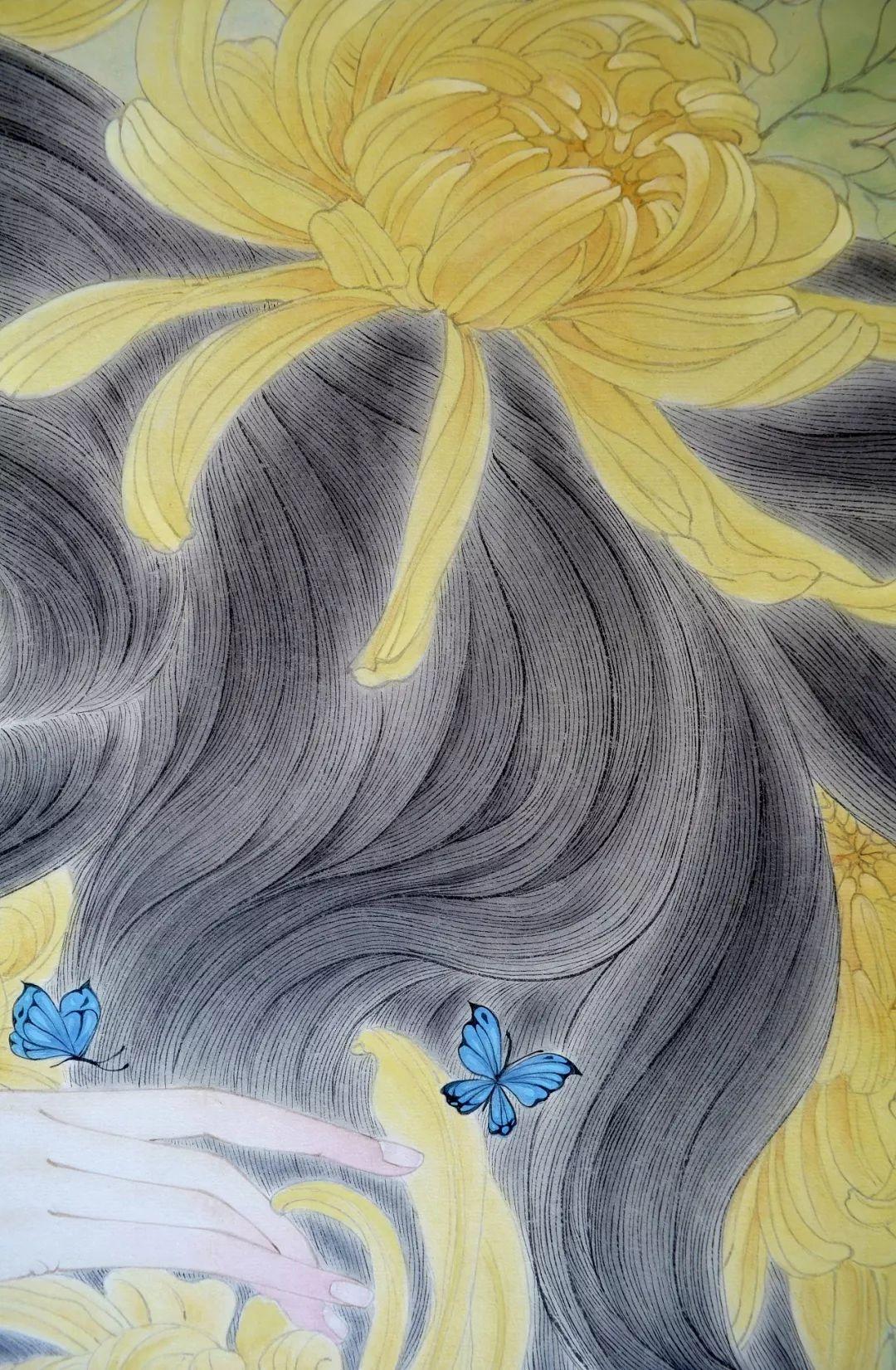 一位全职妈妈的画,惊艳了画坛!插图27