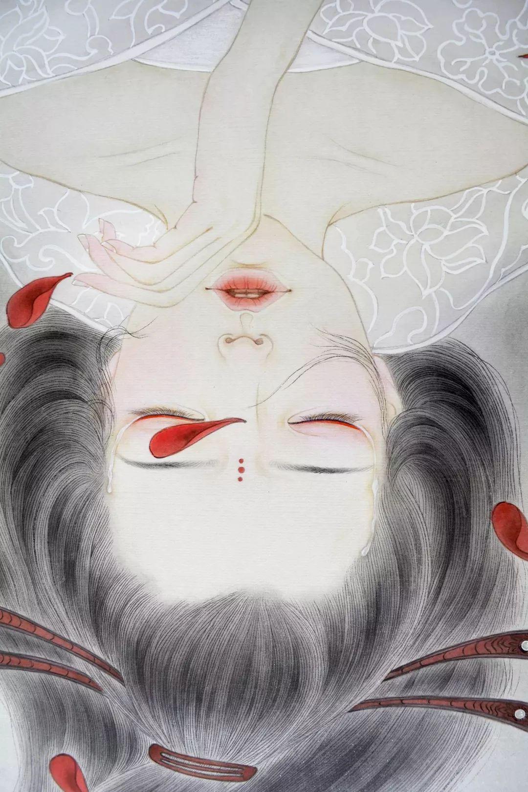 一位全职妈妈的画,惊艳了画坛!插图34