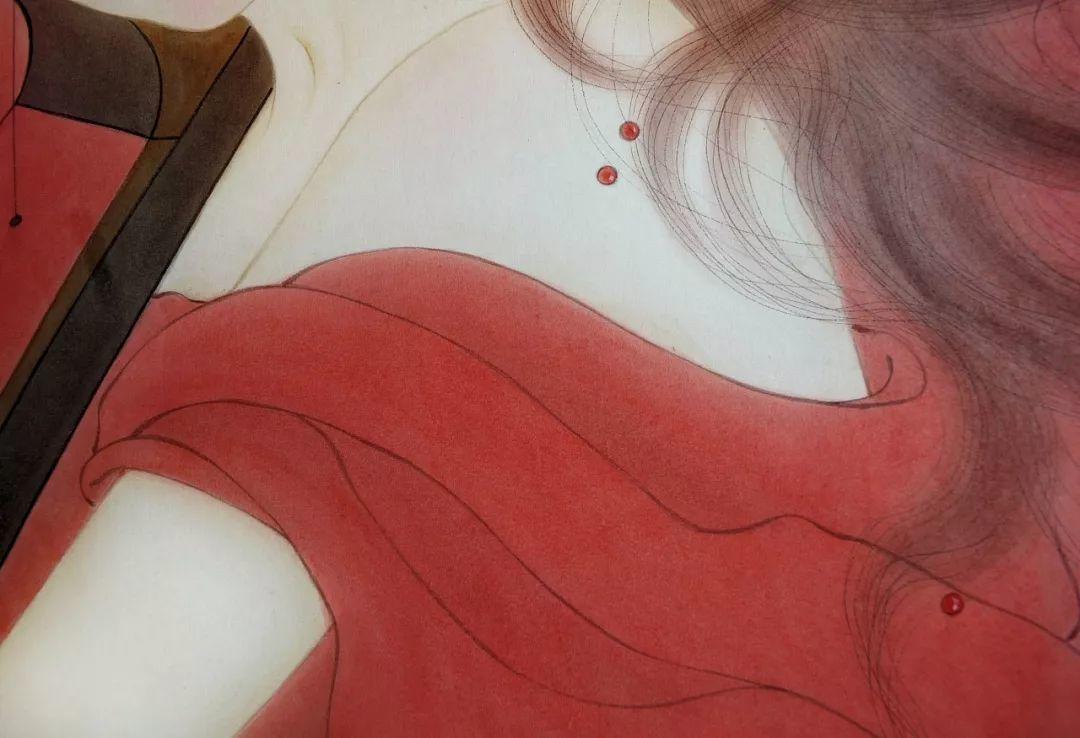 一位全职妈妈的画,惊艳了画坛!插图45