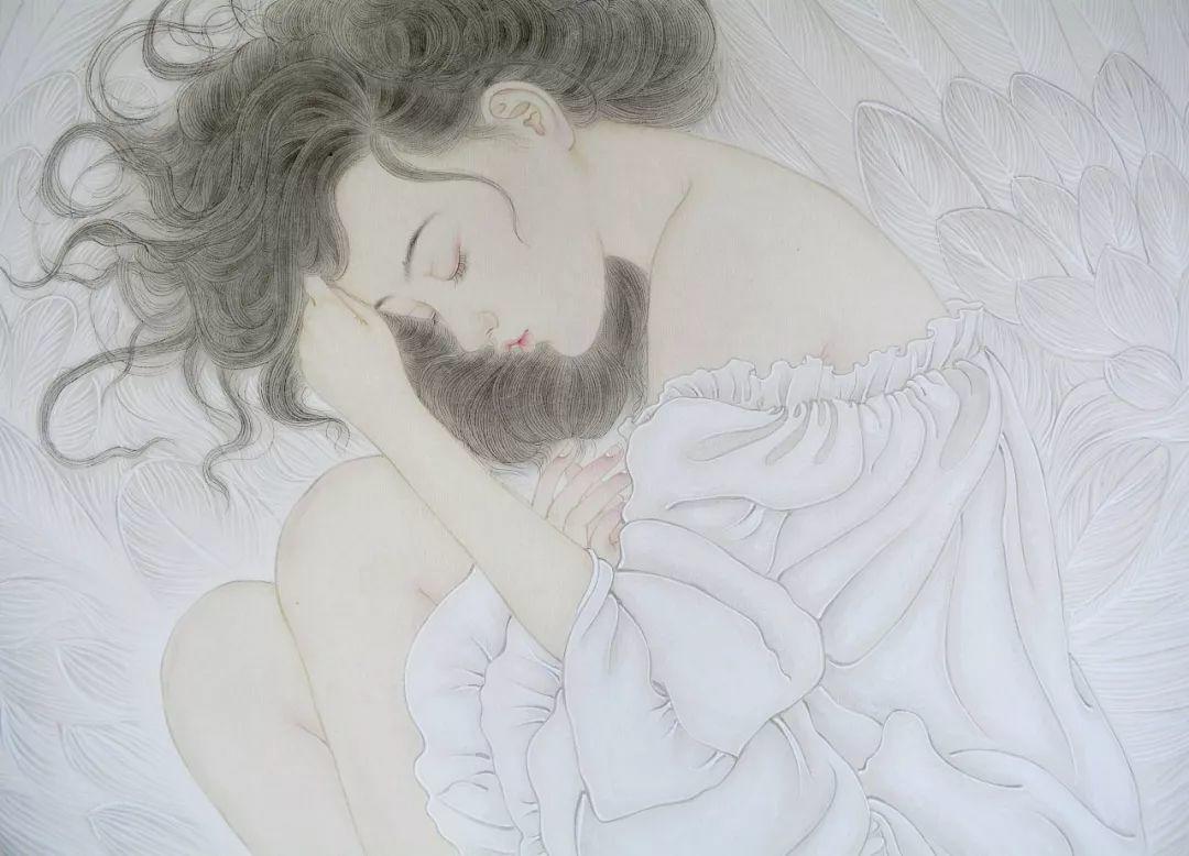 一位全职妈妈的画,惊艳了画坛!插图56
