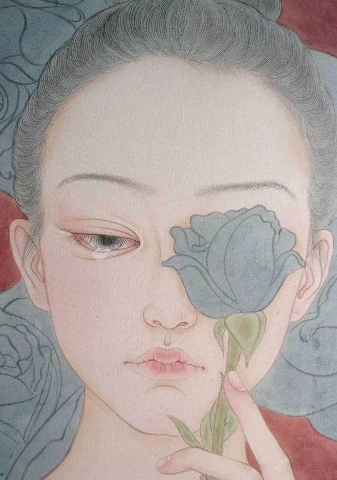 一位全职妈妈的画,惊艳了画坛!插图79