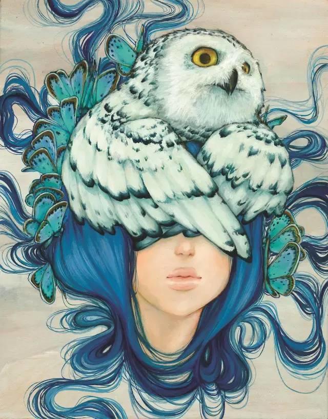 魔幻现实主义的绘画,每幅画好像都是一个奇幻故事插图5