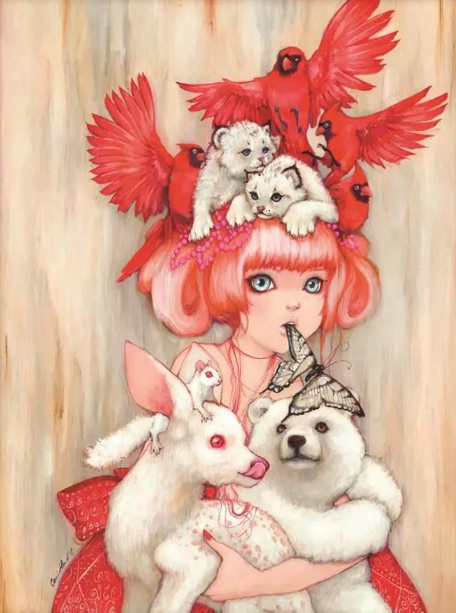 魔幻现实主义的绘画,每幅画好像都是一个奇幻故事插图7