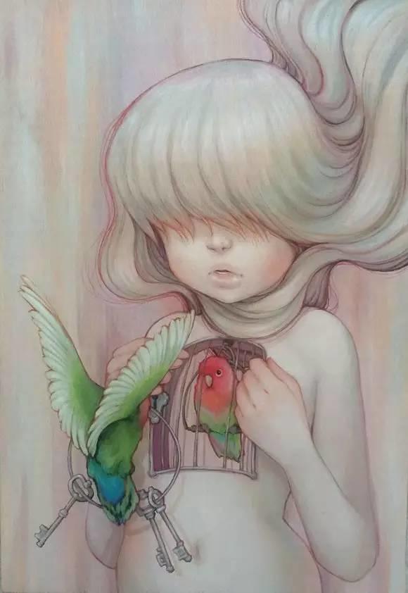 魔幻现实主义的绘画,每幅画好像都是一个奇幻故事插图8