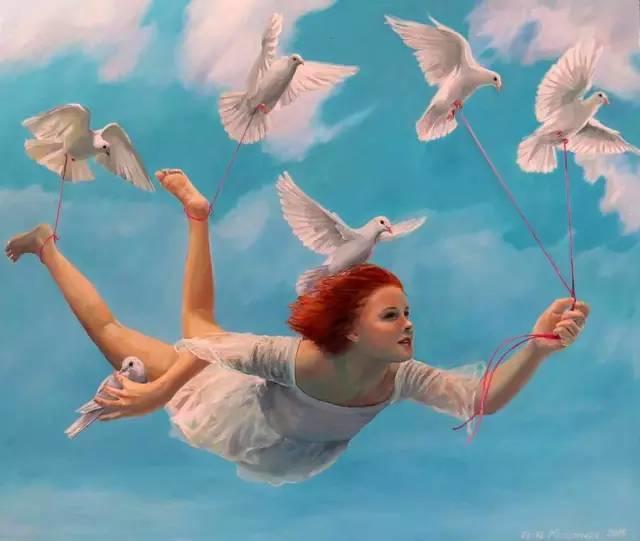 魔幻现实主义的绘画,每幅画好像都是一个奇幻故事插图12