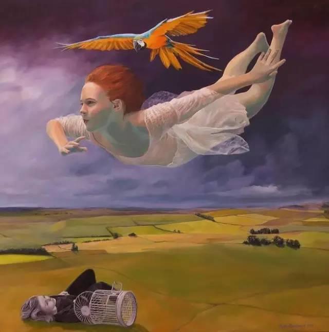 魔幻现实主义的绘画,每幅画好像都是一个奇幻故事插图13