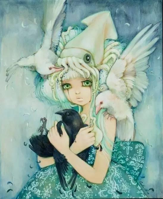 魔幻现实主义的绘画,每幅画好像都是一个奇幻故事插图14