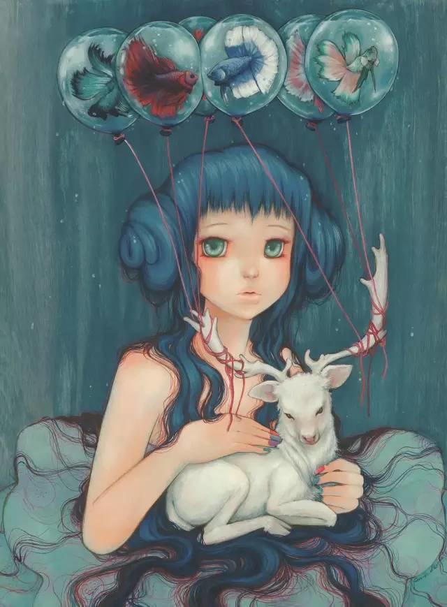 魔幻现实主义的绘画,每幅画好像都是一个奇幻故事插图16