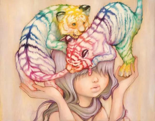 魔幻现实主义的绘画,每幅画好像都是一个奇幻故事插图17