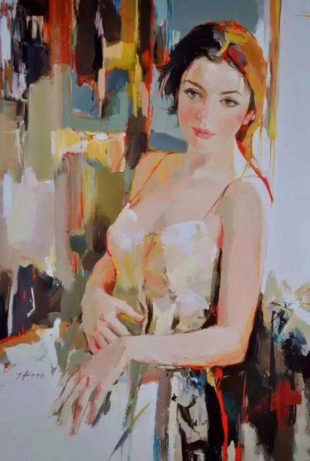 他画的女人让人一眼就爱上,火了30年插图