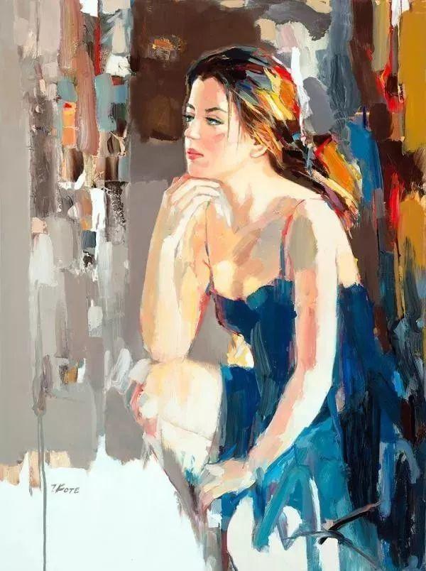 他画的女人让人一眼就爱上,火了30年插图3