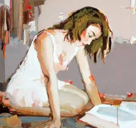 他画的女人让人一眼就爱上,火了30年插图4