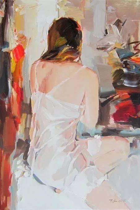 他画的女人让人一眼就爱上,火了30年插图8
