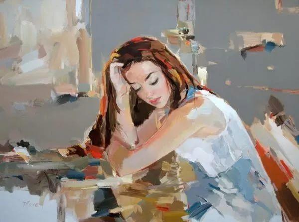 他画的女人让人一眼就爱上,火了30年插图11
