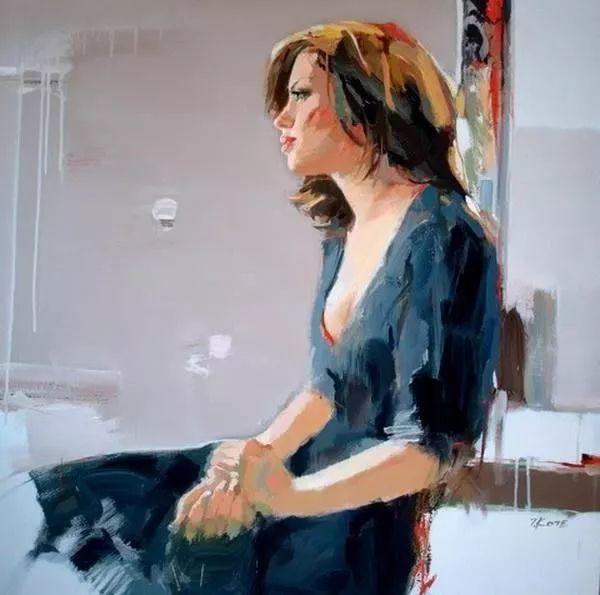他画的女人让人一眼就爱上,火了30年插图12