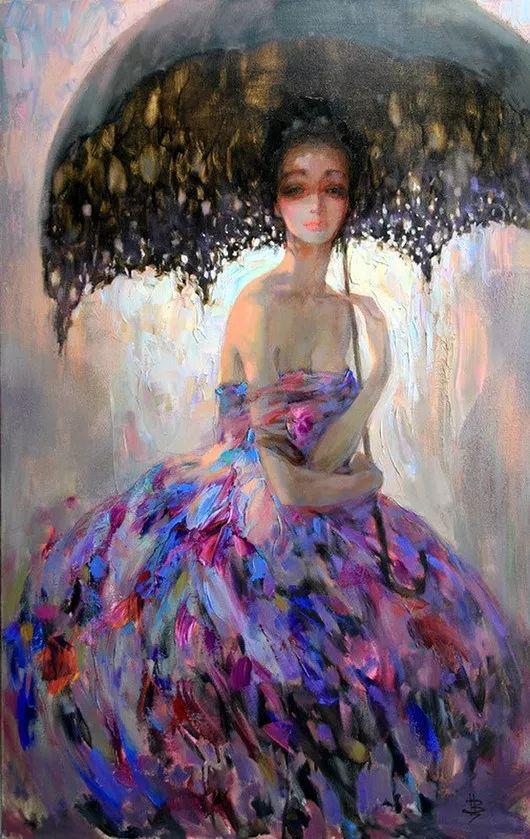 绽放的色彩 俄罗斯女画家Inna Tsukakhina插图1