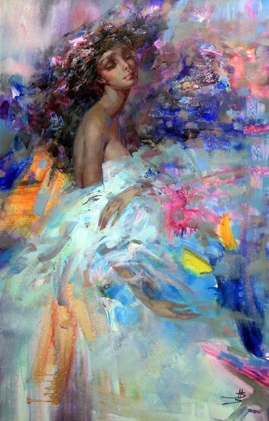 绽放的色彩 俄罗斯女画家Inna Tsukakhina插图3