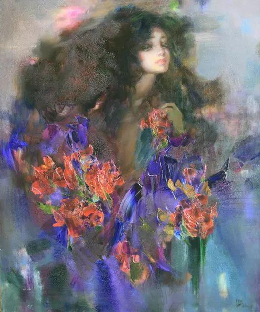 绽放的色彩 俄罗斯女画家Inna Tsukakhina插图7