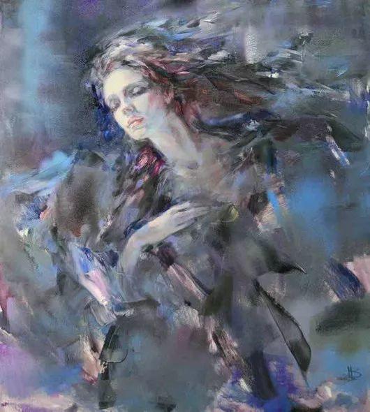 绽放的色彩 俄罗斯女画家Inna Tsukakhina插图9