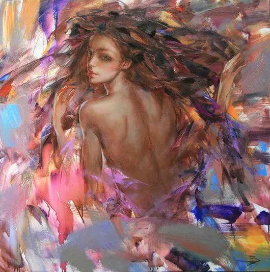 绽放的色彩 俄罗斯女画家Inna Tsukakhina插图11