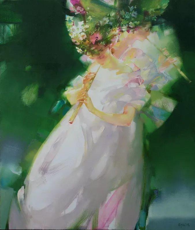 绽放的色彩 俄罗斯女画家Inna Tsukakhina插图15