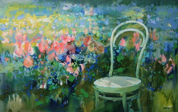 绽放的色彩 俄罗斯女画家Inna Tsukakhina插图63